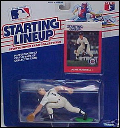 1988 Baseball Alan Trammell Starting Lineup Picture