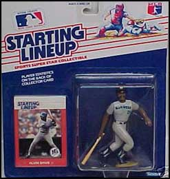 1988 Baseball Alvin Davis Starting Lineup Picture