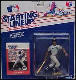 Alvin Davis 1988 Baseball SLU Figure