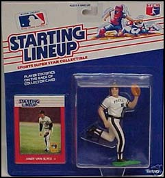 1988 Baseball Andy Van Slyke Starting Lineup Picture
