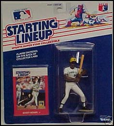 1988 Baseball Barry Bonds Starting Lineup Picture