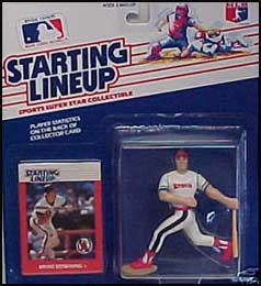 1988 Baseball Brian Downing Starting Lineup Picture