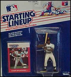 1988 Baseball Candy Maldonado Starting Lineup Picture