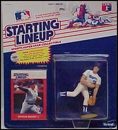1988 Baseball Charlie Hough Starting Lineup Picture