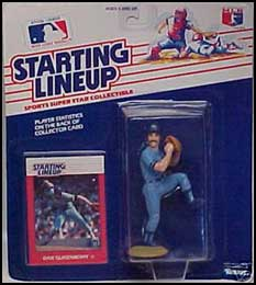 1988 Baseball Dan Quisenberry Starting Lineup Picture