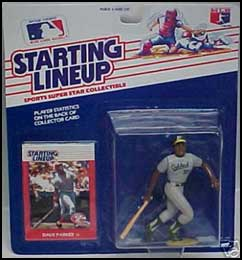 1988 Baseball Dave Parker Starting Lineup Picture