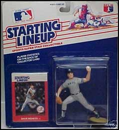 1988 Baseball Dave Righetti Starting Lineup Picture