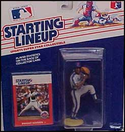 1988 Baseball Dwight Gooden Starting Lineup Picture