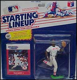 1988 Baseball Ellis Burks Starting Lineup Picture