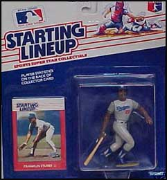 1988 Baseball Franklin Stubbs Starting Lineup Picture
