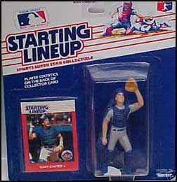 1988 Baseball Gary Carter Starting Lineup Picture