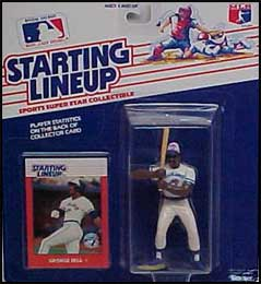 1988 Baseball George Bell Starting Lineup Picture