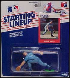 1988 Baseball George Brett Starting Lineup Picture