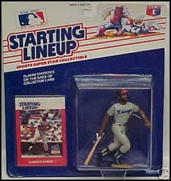 1988 Baseball Harold Baines Starting Lineup Picture