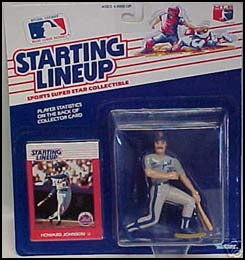 1988 Baseball Howard Johnson Starting Lineup Picture