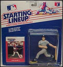 1988 Baseball Jack Clark Starting Lineup Picture