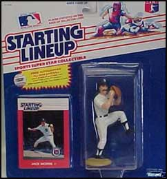 1988 Baseball Jack Morris Starting Lineup Picture