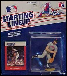 1988 Baseball Jeff Reardon Starting Lineup Picture