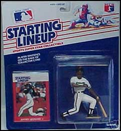 1988 Baseball Jeffrey Leonard Starting Lineup Picture