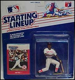 1988 Baseball Jim Rice Starting Lineup Picture