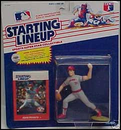 1988 Baseball John Franco Starting Lineup Picture