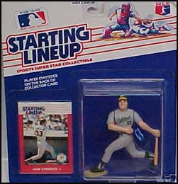1988 Baseball Jose Canseco Starting Lineup Picture