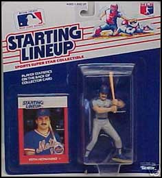 1988 Baseball Keith Hernandez Starting Lineup Picture
