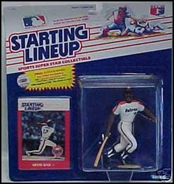 Kevin Bass 1988 Baseball SLU Figure