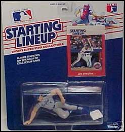 Lenny Dykstra 1988 Baseball SLU Figure