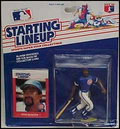 1988 Baseball Leon Durham Starting Lineup Picture