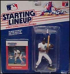 1988 Baseball Lou Whitaker Starting Lineup Picture