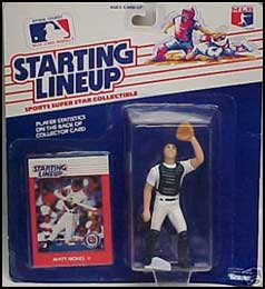 1988 Baseball Matt Nokes Starting Lineup Picture