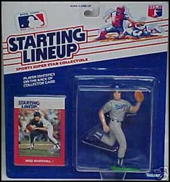 1988 Baseball Mike Marshall Starting Lineup Picture