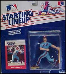 1988 Baseball Mike Schmidt Starting Lineup Picture