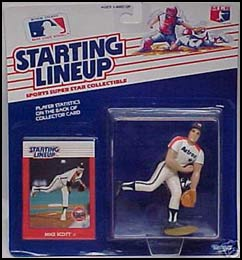 1988 Baseball Mike Scott Starting Lineup Picture
