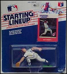 1988 Baseball Pat Tabler Starting Lineup Picture
