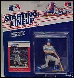 1988 Baseball Paul Molitor Starting Lineup Picture