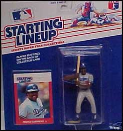 1988 Baseball Pedro Guerrero Starting Lineup Picture