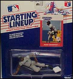 1988 Baseball Rickey Henderson Starting Lineup Picture