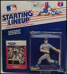 1988 Baseball Rob Deer Starting Lineup Picture
