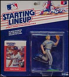 1988 Baseball Robin Yount Starting Lineup Picture