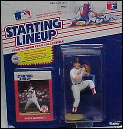 1988 Baseball Roger Clemens Starting Lineup Picture