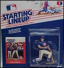 1988 Baseball Ryne Sandberg Starting Lineup Picture