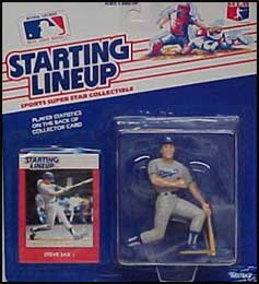 1988 Baseball Steve Sax Starting Lineup Picture
