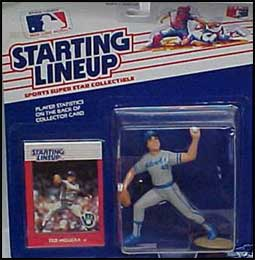 1988 Baseball Ted Higuera Starting Lineup Picture