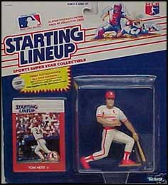 Tom Herr 1988 Baseball SLU Figure