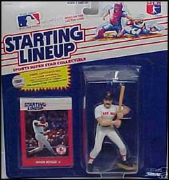 1988 Baseball Wade Boggs Starting Lineup Picture