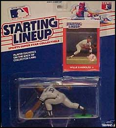 1988 Baseball Willie Randolph Starting Lineup Picture