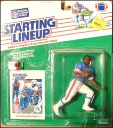 1988 Football Alonzo Highsmith Starting Lineup Picture