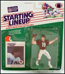 1988 Football Bernie Kosar Starting Lineup Picture